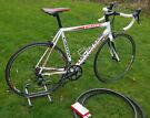 Cannondale CAAD8 Road Bike, 56cm frame, carbon forks, Shimano Sora STI 18 speed