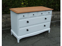 Stag - Vintage - Painted - Chest Of Drawers - 4 Over 2 - Horfield