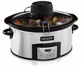 [NEW] Crock-pot Slow Cooker with Auto-timer - serves 6+ - £60 on Amazon