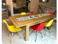 Eames inspired dining chairs - Collection Only