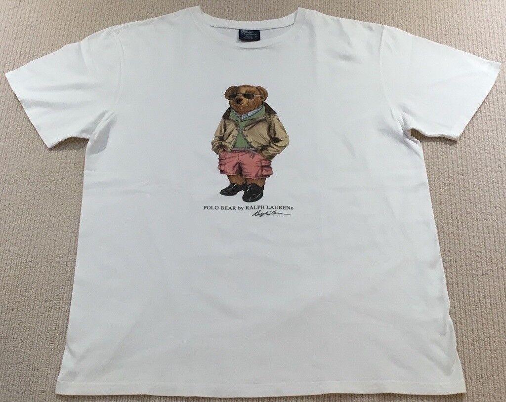Ralph Lauren Polo Bear T Shirt (Not Kanye, Boost, Yeezy, Supreme, Stone  Island, BAPE, Palace, Gosha) 843e15e5fc9