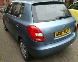 Skoda fabia 2007 12m MOT, low mileage, good condition, £2200 ono