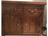 'PAD' solid wood dresser/storage cabinet