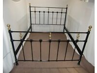 KING SIZE METAL DIVAN SURROUND FRAME