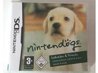 "Nintendo DS ""Nitendogs Labrador and friends"" game"
