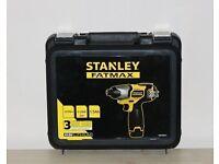 Brand New Stanley FatMax Cordless Li-Ion Impact Driver Drill