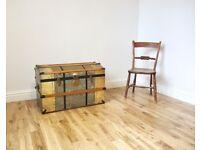 Vintage Domed Travelling Trunk / Blanket Box / Storage Chest
