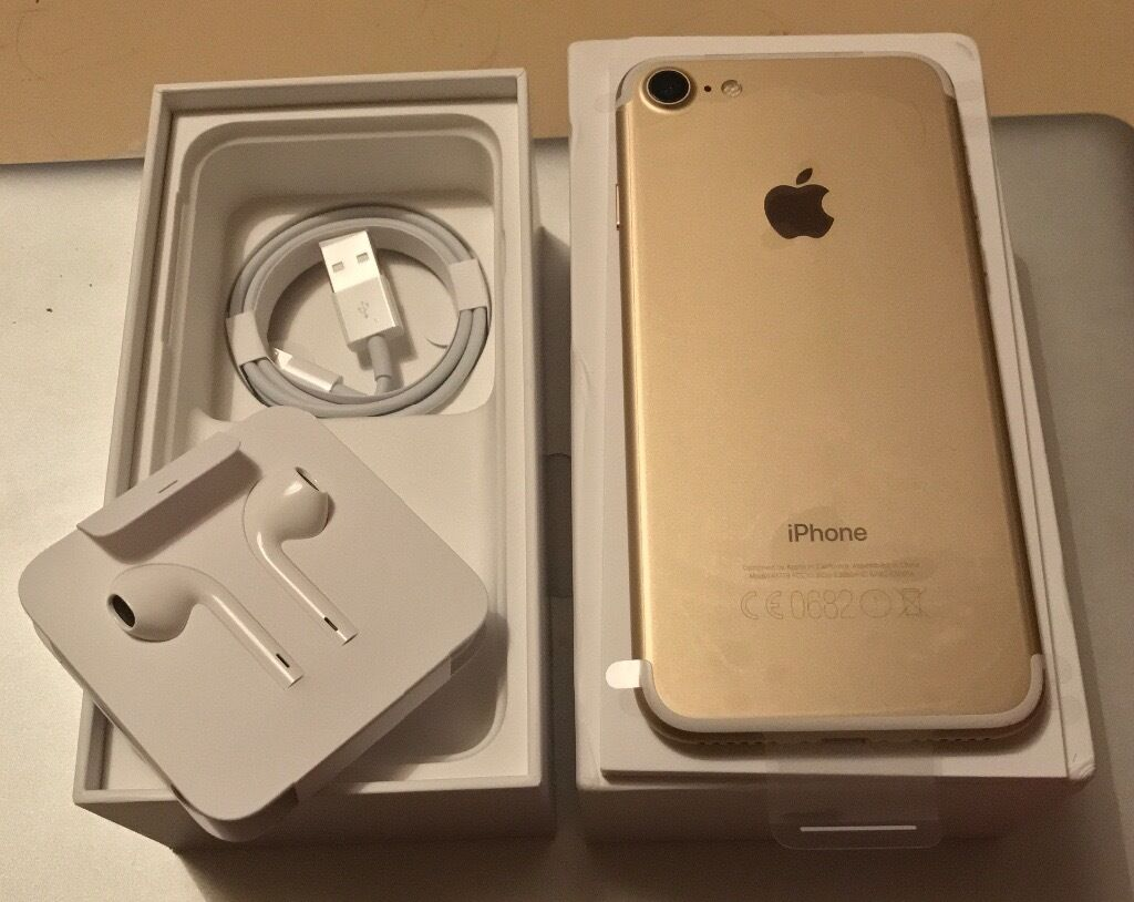 iphone 7 gold white bnib never used 32gb ee network brand new in goring by sea west sussex. Black Bedroom Furniture Sets. Home Design Ideas