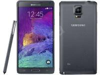 Samsung Galaxy Note 4 Black (Unlocked) Smartphone - Good Condition