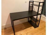 Black desk