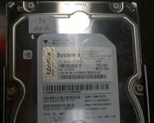 "Lenovo 81Y9791 - 1TB HDD - 7200 RPM - 3.5"" SATA 6Gb/s - No Trays - 9ZM173-155"