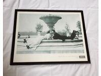MEET ME AT THE FOUNTAIN 1908 by American Experience FRAMED PICTURE (Feng Shui)
