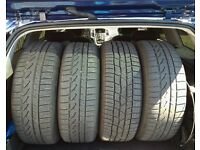 "Vauxhall 16"" Steel wheels with winter tyres 5x115"