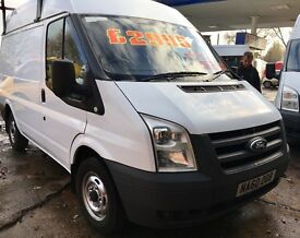 FORD Transit 60 Reg SWB Semi High Roof One Owner Direct
