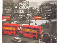 London Busses Canvas