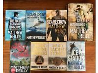 Matthew Reilly Books x 8