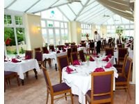Experienced Waiting Staff Required