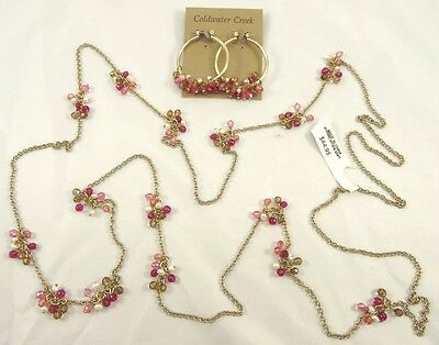 """New """"Endless Ombre Spark"""" Necklace & Earring Set from Coldwater Creek #CWC1"""