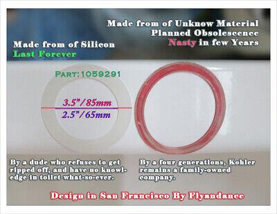 Custom KOHLER PART 1059291 CANISTER SEAL Silicon gasket Ring superior Better