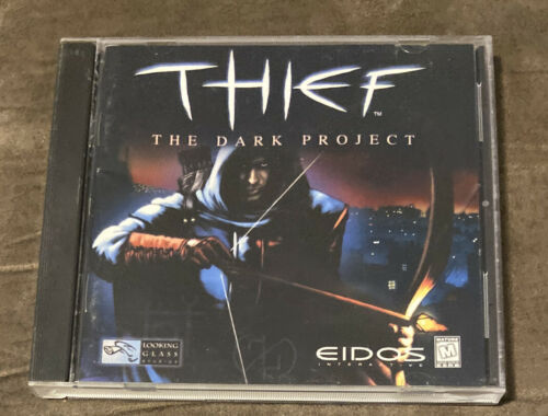 Computer Games - Thief The Dark Project CD-ROM PC Computer Game! ~ Works Great! ~ Fast Shipping!