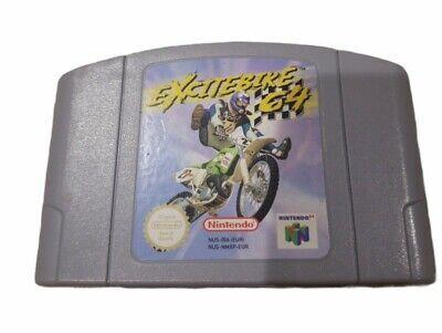 Excitebike 64 N64 PAL EUR Version Not US Cartridge