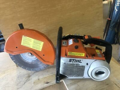 Stihl Ts460 Gas Powered Concrete Cut-off Saw Very Good Condition.