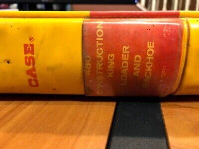 Case 480 Construction King Loader Backhoe Service Maintenance Manual