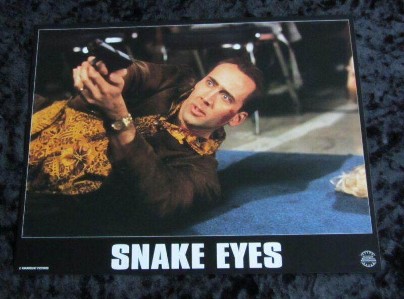 Snake Eyes lobby cards - Nicolas Cage, Gary Sinise - French Set of 8 stills