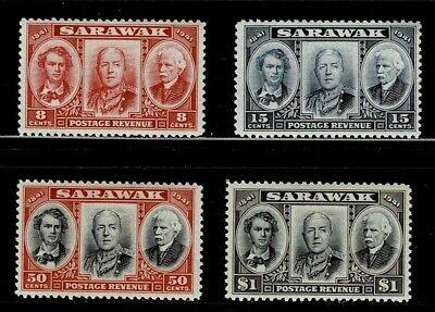 Sarawak 1946 CENTENARY SET MOUNTED MINT