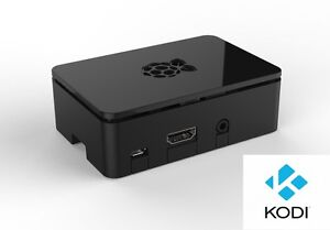 Raspberry PI 3 komplettes HTPC Mediacenter, Kodi (XBMC), Wlan