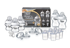 Tommee-Tippee-Feeding-Starter-Kit-Baby-Bottle-Free-international-delivery