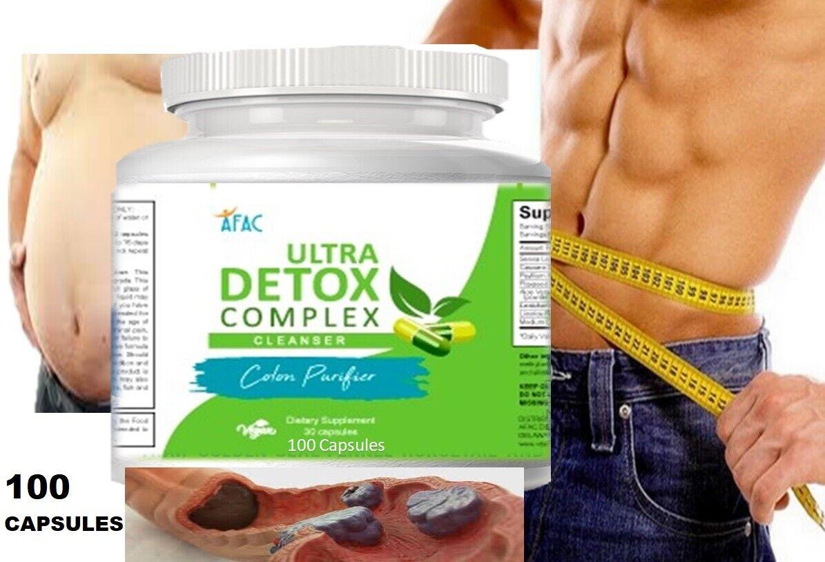 COLON CLEANSER powder capsules colagina desentoxicador livera seltzer detox 1