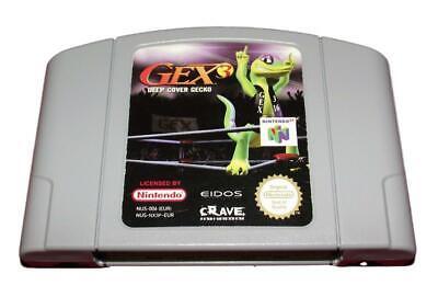 Gex 3 Deep Cover Gecko Nintendo 64 N64 PAL