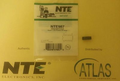 Nte Nte987 Integrated Circuit Quad Low Power Operational Amplifier 14 Lead Dip
