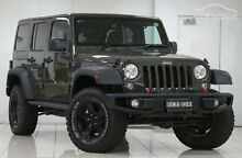 2015 Jeep Wrangler Renegade Unlimited Sport 4x4 Auto 3.6 V6 Chatswood Willoughby Area Preview
