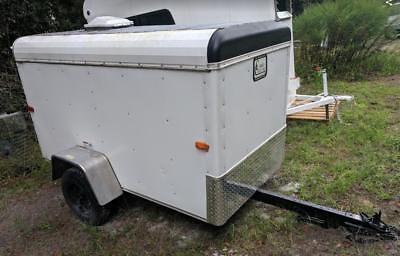 4x8 Enclosed Cargo Box Hauler Trailer