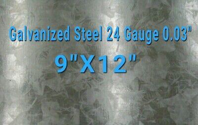 Galvanized Steel Sheet 24 Gauge 0.024 Inch0.63 Mm 9x12 Inch