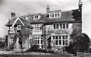 Woodbury Hotel East Grinstead unused RP old pc Malcolm Powell