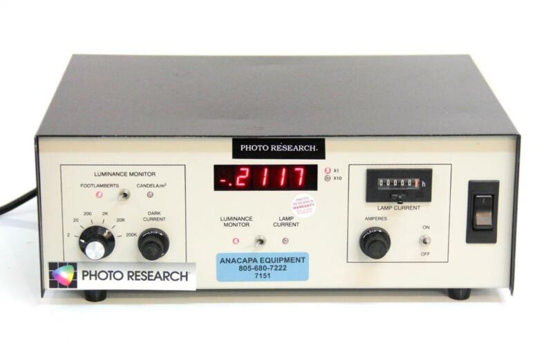 Photo Research Inc. LRS-455-6-1 Calibration Source Controller Luminance (7151