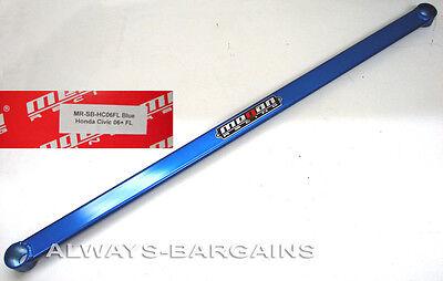 - MEGAN RACING Front Lower Tie Strut Bar Honda Civic 06 07 08 09 10 11 BLUE
