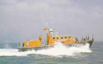 A Tyne Class Self-Righting Lifeboat Postcard