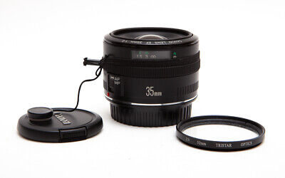 Canon EF 35mm 35 f/2.0 f2 f/2 (Non-IS) Wide Angle Lens + Filter - SHARP!