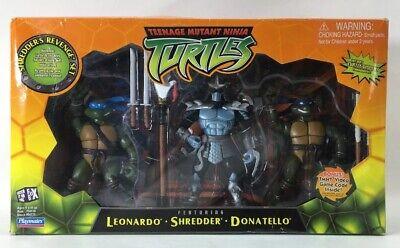 Vintage 2002 Teenage Mutant Ninja Turtles Action Figure Shredders Revenge Set