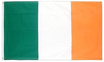 Groß Irische Flagge st Patricks Day Dekoration Irland Fußball 70 X 50cm 261 ()