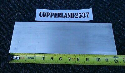 .125 X 6 X 12 Long New 6061 Solid Aluminum Plate Flat Bar Stock Block 18