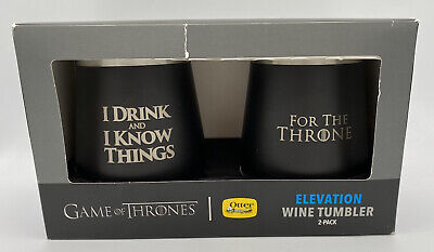 Otterbox Game Of Thrones 2-Pack Elevation Wine Tumblers