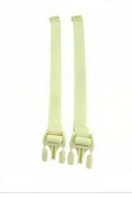 NEW Fisher Price Cradle 'n Swing  Replacement Waist Restraint Straps (2pc)