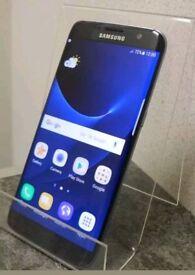 Samsung Galaxy S7 edge 32gb unlocked in black, very good condition
