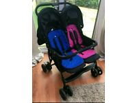 Joie Aire Double Buggy / Stroller / pushchair / pram