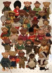 Franklin Mint Russ Teddy Town Bear Collection X 30 Urunga Bellingen Area Preview